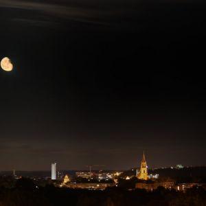 Marko Bennin - Neubrandenburg bei Mondschein