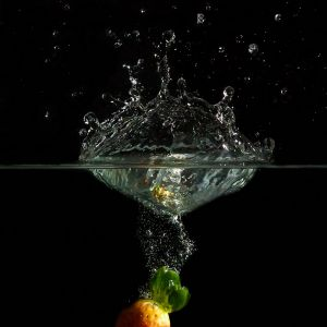 Splash-Erdbeere by Sylvia Kroll