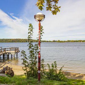 Herbstbeginn am See