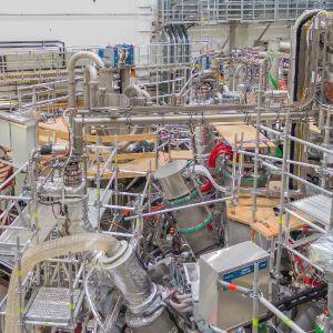 Plasmafusionsreaktor Wendelstein X