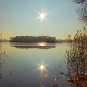 Gegenlicht Kastorfer See (Uwe Quicker)