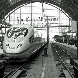 Uwe Quicker Bahnhof Frankfurt