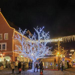 Eingang Weihnachtsmarkt Nbg