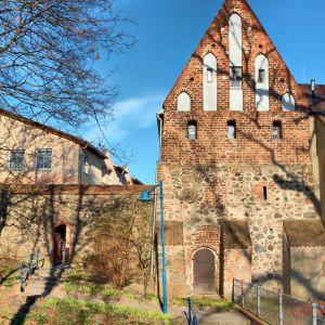 Wieckhaus Fischerburg Friedland HDR